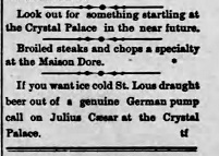 Crystal Palace history from 1889