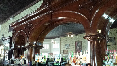 Crystal Palace Saloon's Bar