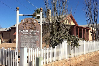 Allen English historic house, Tombstone AZ