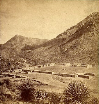 Fort Bowie Arizona vintage photo