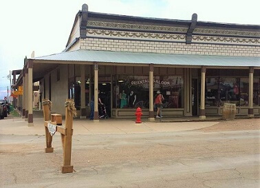 Oriental Saloon historic building, Tombstone AZ