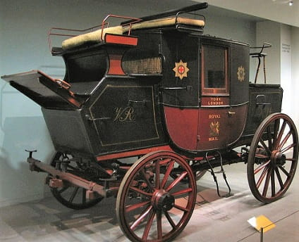 Royal Mail in 1750 took about 2 days by stagecoach from Cambridge to London. By 1820 road improvements took time to less than 7 hours.