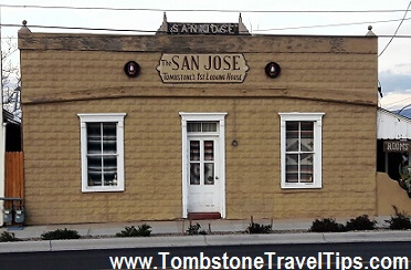 San Jose House, Tombstone AZ
