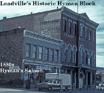 Doc Holliday frequented Hyman's Saloon