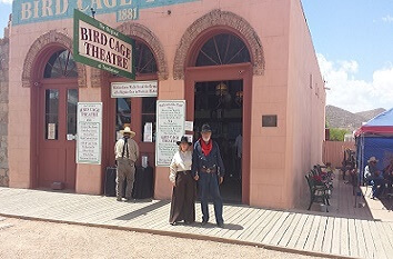 Historic Bird Cage Theatre in Tombstone AZ